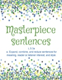 Masterpiece Sentences