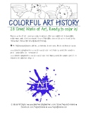 Masterpieces Coloring Pages