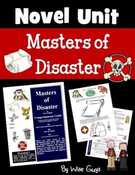 Masters of Disaster Novel Study Unit