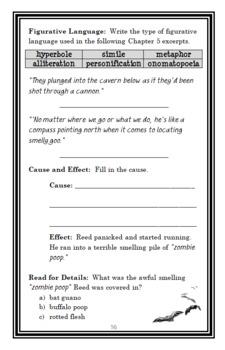 Masters of Disaster (Gary Paulsen) Novel Study / Reading Comprehension