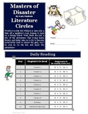 Masters of Disaster by Gary Paulsen Literature Circle Activity