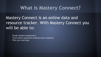 Mastery Connect How to Guide