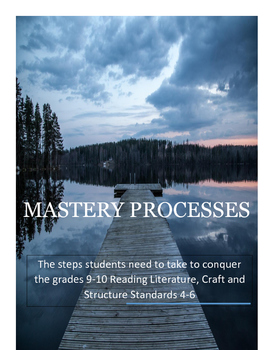 Mastery Processes to Master RL.9-10.4-6