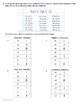 Mastery Quizzes: Frequency Tables, Dot Plots, Stem-and-Leaf Plots {TEKS 4.9A}