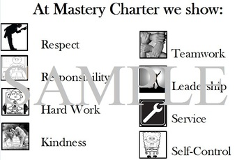 Mastey Charter School Values