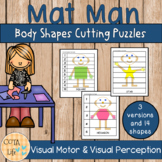 Mat Man Cutting and Puzzle Pages