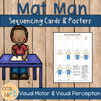 picture about Printable Photo Mat Templates titled Mat Person Sequencing Playing cards and Posters