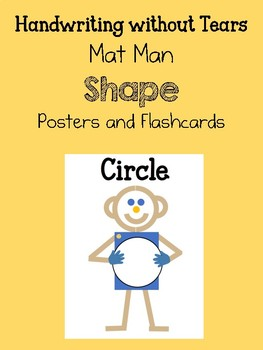 Mat Man Shape Posters