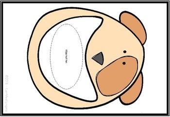 Mat hunden med første-, midterste- og sistelyd