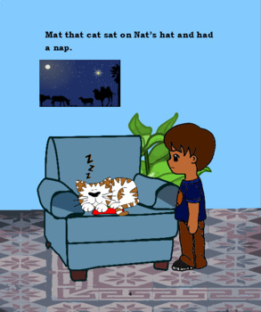 """Mat that Cat  """"the short a"""""""