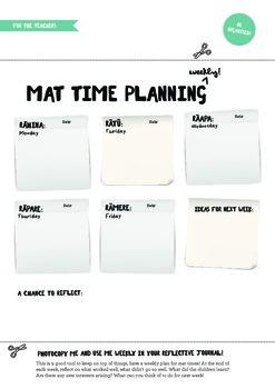 Mat time plan