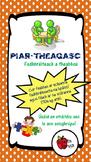 Mata : Piar-Theagasc san Fhadhbréiteach // Peer-Tutoring for Problem Solving