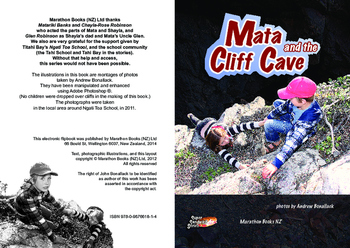 Mata and the Cliff Cave – Easy-reading adventure for reluctant-reader boys