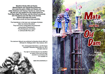 Mata and the Old Dam – easy reading adventure for G. 2-4 reluctant-reader boys