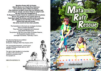 Mata and the Raft Rescue – easy-reading adventure for G2-4 remedial reading boys