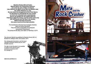 Mata and the Rock Crusher – Easy-reading adventure for G2-4 reluctant readers