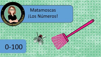 Matamoscas, Fly Swatter Game, Numbers 0-100, 7 game boards!