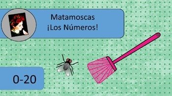 Matamoscas, Fly Swatter Game, Numbers 0-20