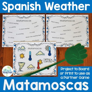 Matamoscas (Flyswatter) Game with Spanish Weather Expressions