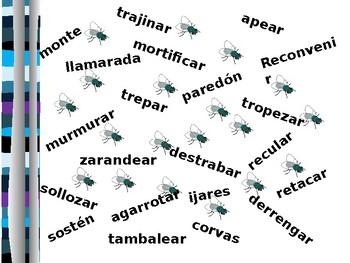 Matamoscas Game for No oyes ladrar los perros by Juan Rulfo