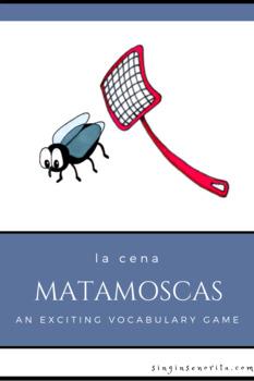 Matamoscas La Cena (An Exciting Food Vocabulary Game)