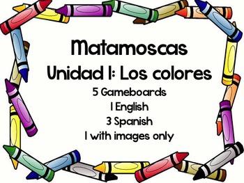 Matamoscas- Los colores