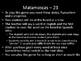 Matamoscas (Realidades I - 2B)