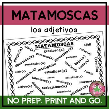 Matamoscas - Spanish Adjectives Vocabulary