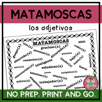 Matamoscas - Spanish Adjectives Vocabulary