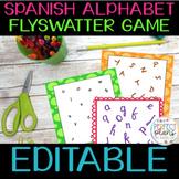 Matamoscas - Spanish Alphabet Flyswatter - editable