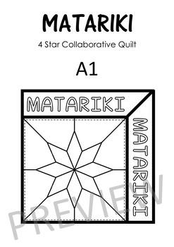 Matariki Art – 4 Star Collaborative Quilts