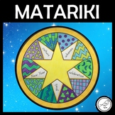 Matariki Art  -  words and patterns