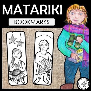 Matariki Bookmarks