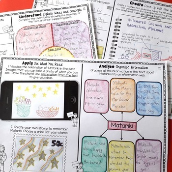 Matariki Literacy Bundle - New Zealand Reading, Writing, Creative Thinking