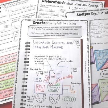 Matariki Activities - Reading, Writing, Creative Thinking Bundle
