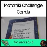Matariki Challenge cards - Upper Primary