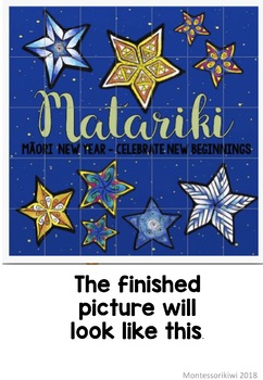 Matariki Class Art FREEBIE
