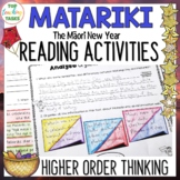 Matariki Close Reading Comprehension Texts - Higher Order