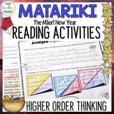 Matariki New Zealand Close Reading Comprehension Passages