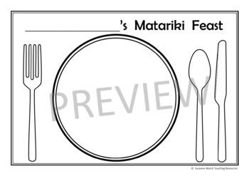 Matariki – Daniel's Matariki Feast – Activity sheets for the book