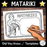 Matariki – Did You Know … Writing Templates