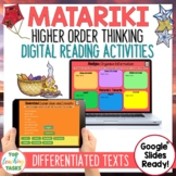 Matariki Digital Reading Comprehension Activity for Google Slides