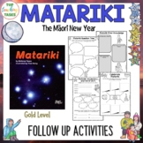 Matariki Gold Level Follow Up Reading Comprehension Activities