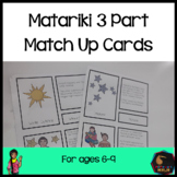 Matariki Matching Cards (Montessori Inspired) - Lower Primary