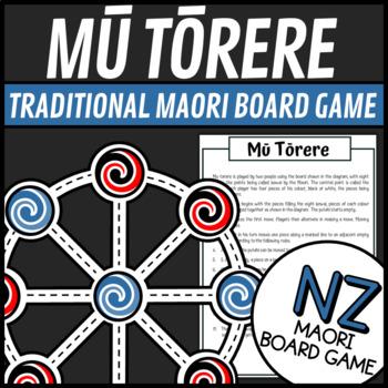 Matariki - Mu Torere (A Traditional Maori Board Game)