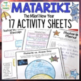 Matariki Print and Go Activity Pack 15 Engaging Literacy R