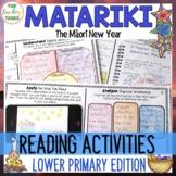 Matariki Reading Comprehension Activities Year 3 and 4 NZ