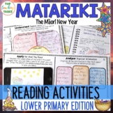Matariki Reading Comprehension Activities Year 3 and 4 NZ