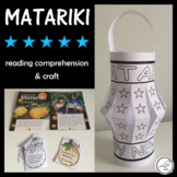 Matariki - Reading comprehension activity and paper lantern craft