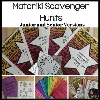 Matariki Scavenger Hunt - Lower Primary